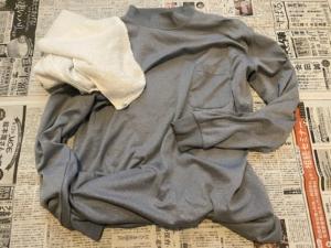 作業着とタオル